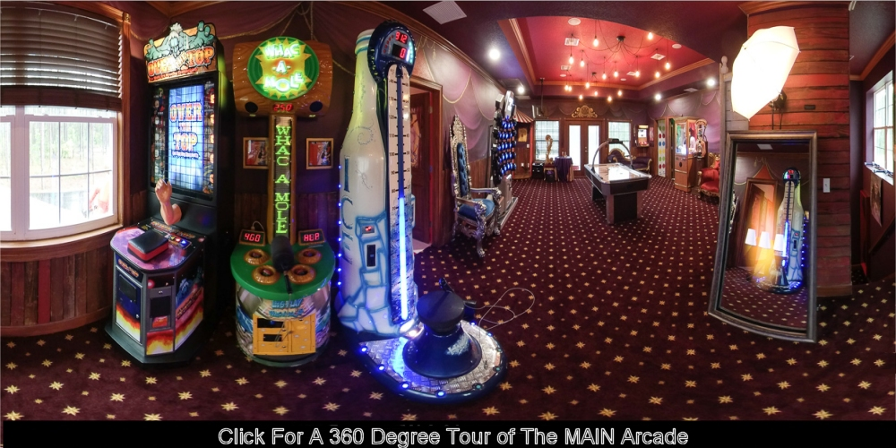 Play video games and arcade machines at The Great Escape Parkside in the Orlando area