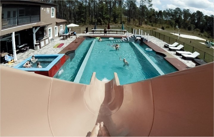 crazy fast waterslides from orlando area luxury rentals
