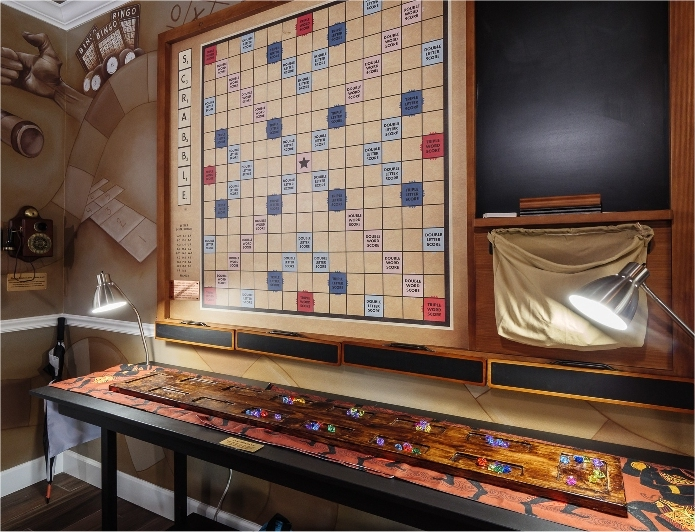 Play giant Scrabble at Great Escape Parkside