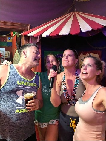 "Sing Karaoke at The Great Escape ""Game House"" Luxury Vacation Rental in the Orlando area"
