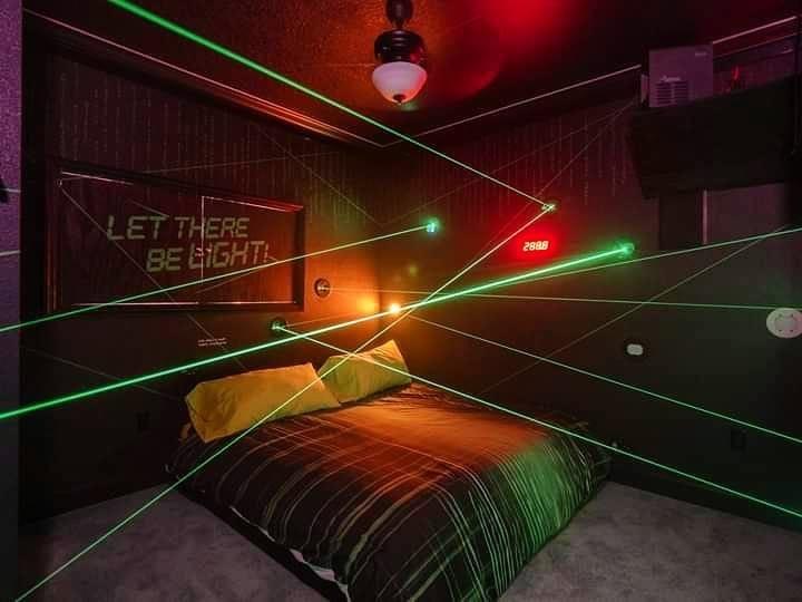 Great Escape Parkside Laser Maze