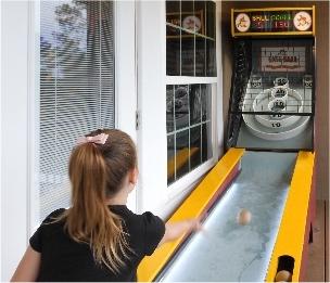 Skeeball at vacation home rental