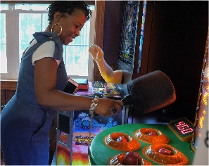 Whack-a-Mole at Great Escape Parkside