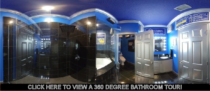 TV game show master bathroom