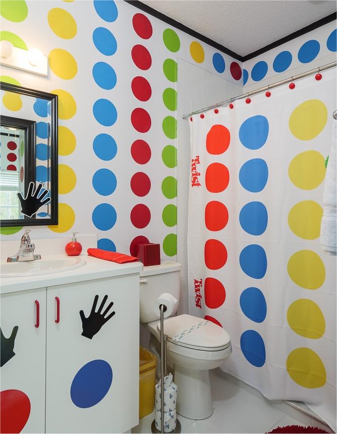 Twister bathroom