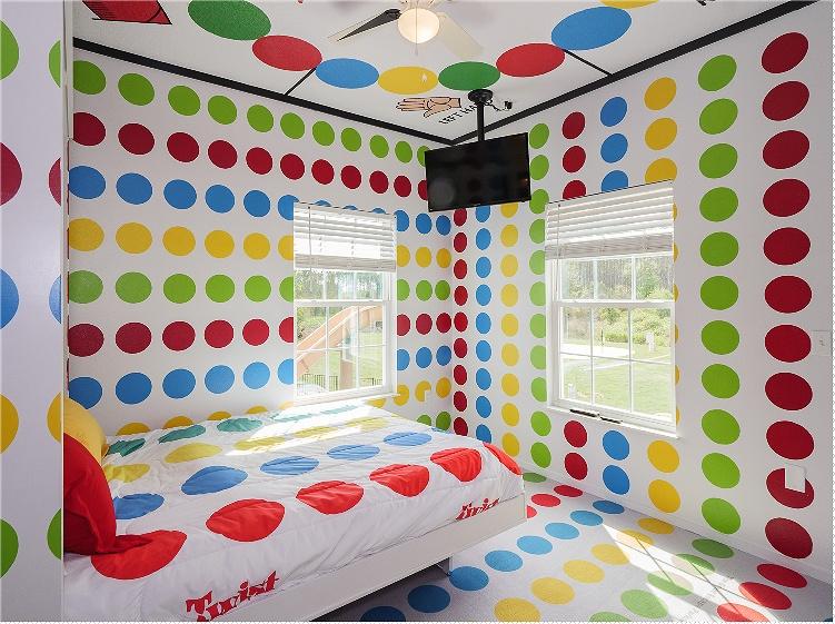Twister bedroom