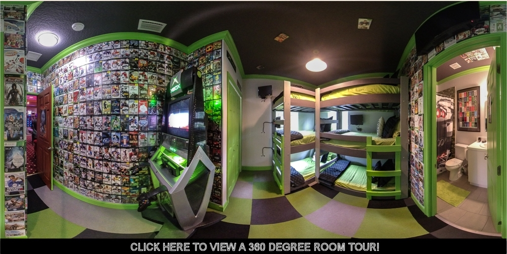 photo of x-box playstation bedroom