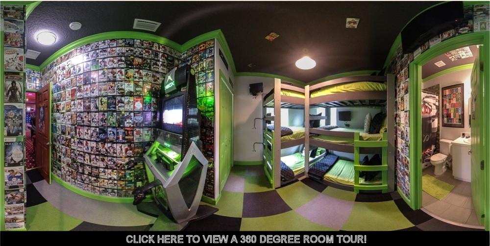 photo of x-box playstation bedroom